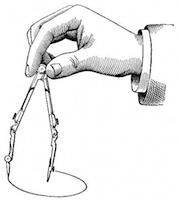 Figure 2: A standard compass.
